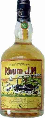 Rhum J.M. 50 % Vol. Martinique