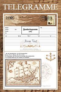 Schmuckblatt -Telegramme